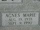 "Profile photo:  Agnes Marie ""Sissy"" <I>Stein</I> Holt"