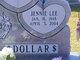 Jennie Lee <I>Hunt</I> Dollar