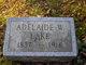 Adelaide Annis <I>Webber</I> Lake