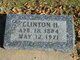 Clinton H Baker