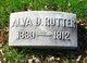 Profile photo:  Alva D. Rutter