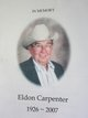Earl Eldon Carpenter