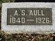 Profile photo:  Albert S Aull