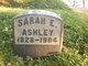 Profile photo: Mrs Sarah E Ashley