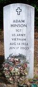 Profile photo: Sgt Adam Hinson