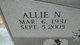 Allie N <I>Lewis</I> Bailey