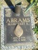 Margaret Eileen <I>Meredith</I> Abrams