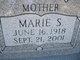 Profile photo:  Marie Sadie <I>Britz</I> Anz