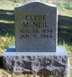 George Clyde McNeil