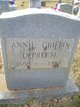 Profile photo:  Annie <I>Griffin</I> DeFreese