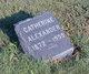 Catherine Alexander