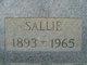 Sallie <I>Hart</I> Sellers