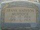 Frank Madison Murdock
