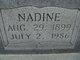 Nadine <I>Howard</I> Murdock