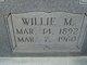 Willie M. Murdock