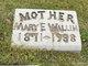 Mary Ellen <I>Farris</I> Wallin