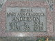 Profile photo:  Mary Ann <I>Craddock</I> Anderson
