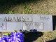 Mary Lou <I>Wells</I> Adams