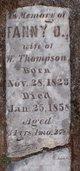 Fanny O. <I>York</I> Thompson