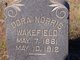 Dora Virginia <I>Norris</I> Wakefield