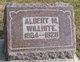 Profile photo:  Albert M Willhite