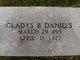 Profile photo:  Gladys B. <I>Hatch</I> Daniels