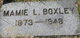Mamie Lucy Boxley