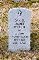 Profile photo: PFC Daniel James Wright