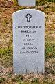 Profile photo:  Christopher Columbus Baker, Jr