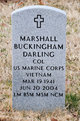 Marshall B Darling