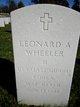 Profile photo:  Leonard A Wheeler