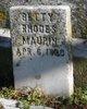 Betty <I>Rhodes</I> Maupin