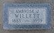 Ambrose Joshua Willett
