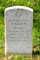 Profile photo:  Donald L Ramsey