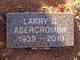 Larry Gene Abercrombie
