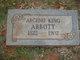 Profile photo:  Arceno King Abbott