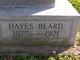 Profile photo:  Hayes Beard