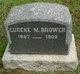 Profile photo:  Eugene M Brower