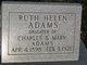 Profile photo:  Ruth Helen Adams