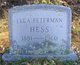 Ella <I>Peterman</I> Hess