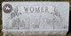 Josephin E <I>Miller</I> Womer