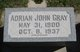 Profile photo:  Adrian John Gray