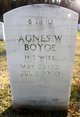 Profile photo:  Agnes Whelan Boyce