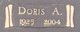 Doris <I>Arnold</I> Adkins