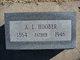 "Abraham L. ""Lewis"" Hoober"