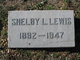 Shelby L Lewis