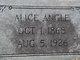 Profile photo:  Alice W. <I>Hargett</I> Angle