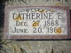 Catherine Elizabeth <I>Owens</I> Daniels