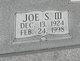 Profile photo:  Joe S Allen, III