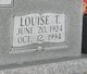 Profile photo:  Louise <I>Thurman</I> Allen